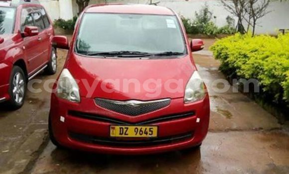 Buy Used Toyota Ractis Red Car in Lilongwe in Malawi