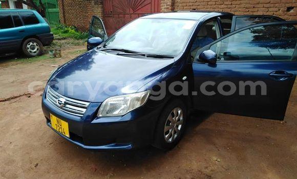 Buy Used Toyota Axio Blue Car in Lilongwe in Malawi