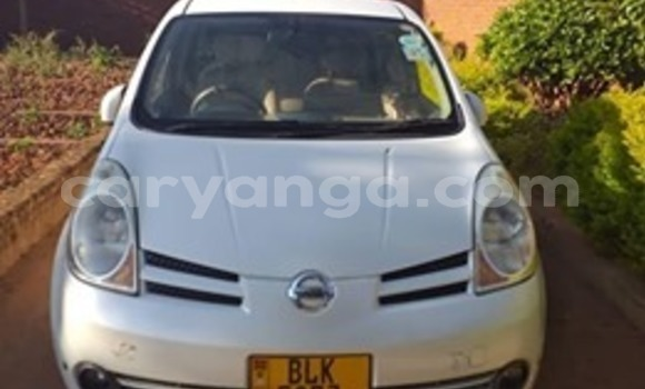 Buy Used Nissan Note White Car in Lilongwe in Malawi