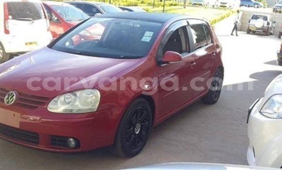 Buy Used Volkswagen Golf Red Car in Lilongwe in Malawi