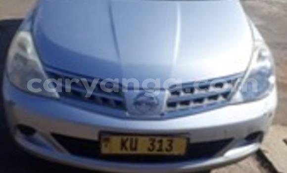 Buy Used Nissan Tiida Silver Car in Lilongwe in Malawi