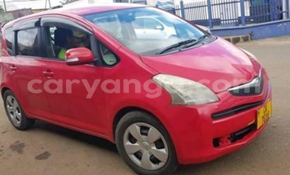 Buy Used Toyota Ractis Red Car in Blantyre in Malawi
