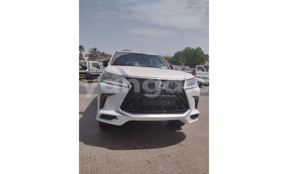 Buy Import Lexus LX White Car in Import - Dubai in Malawi