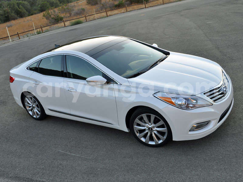 Big with watermark abtl 2014 hyundai azera limited premium package diamond white pearl front quarter right