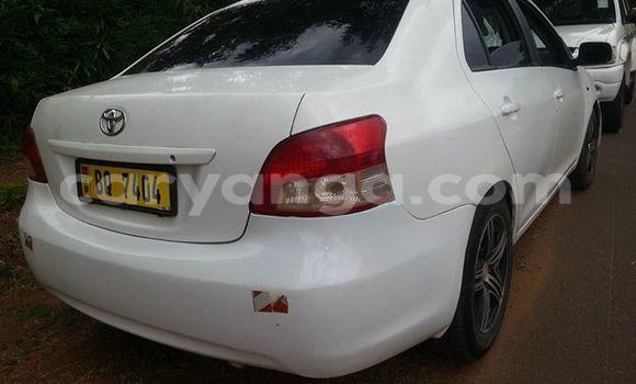 Buy Used Toyota Yaris White Car in Limbe in Malawi