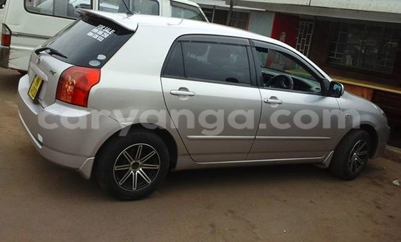 Buy Used Toyota Runx Silver Car in Limbe in Malawi