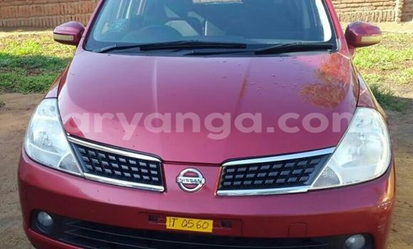 Buy Used Nissan Tilda Red Car in Limbe in Malawi