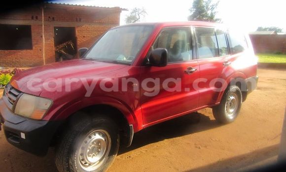 Buy Used Mitsubishi Pajero Red Car in Limbe in Malawi