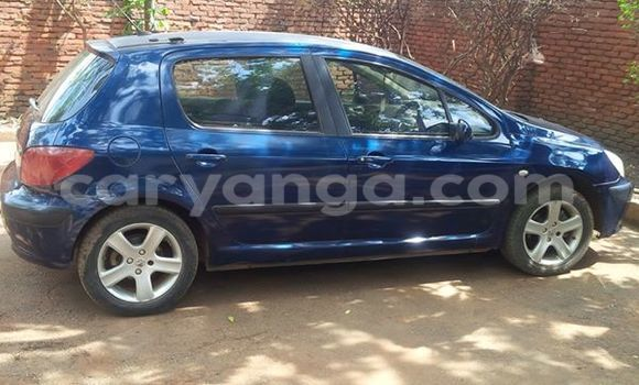 Buy Used Peugeot 307 Blue Car in Limbe in Malawi
