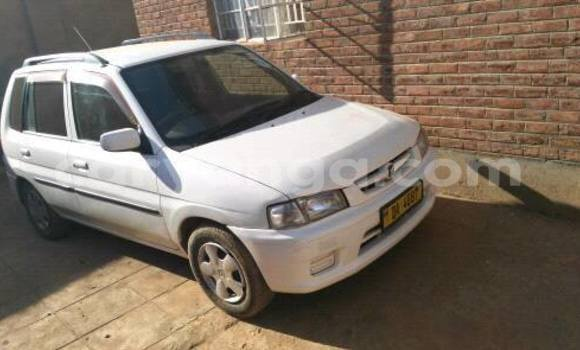Buy Used Mazda Demio White Car in Limbe in Malawi