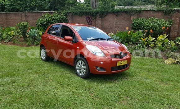 Buy Used Toyota Yaris Red Car in Limbe in Malawi