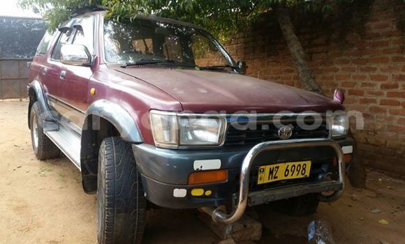 Buy Used Toyota Surf Red Car in Limbe in Malawi