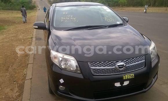 Buy Used Toyota Fielder Black Car in Limbe in Malawi