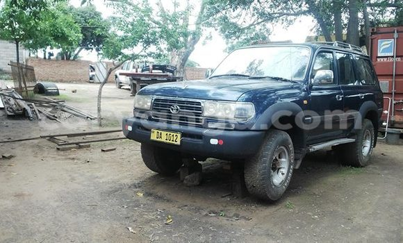 Buy Used Toyota Land Cruiser Blue Car in Limbe in Malawi