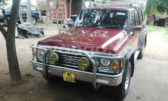 Buy Used Nissan Patrol Red Car in Limbe in Malawi