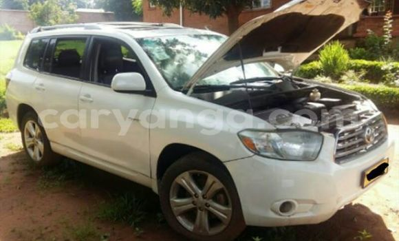 Buy Used Toyota Highlander White Car in Limbe in Malawi