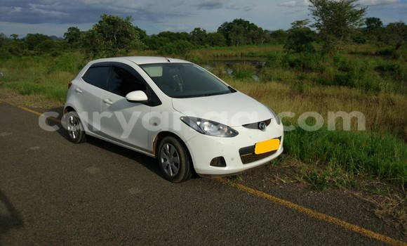 Buy Used Mazda Demio White Car in Lilongwe in Malawi