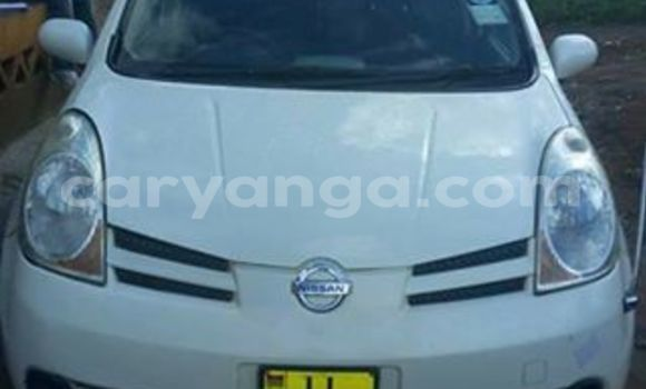 Buy Used Nissan Note White Car in Limbe in Malawi