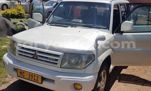 Buy Used Mitsubishi Pajero White Car in Limbe in Malawi