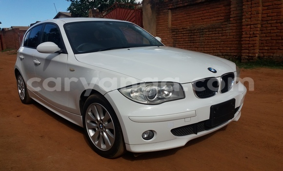 Buy Used BMW 1-Series White Car in Lilongwe in Malawi