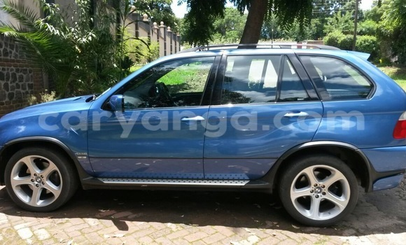 Buy Used BMW X5 Blue Car in Blantyre in Malawi