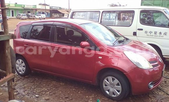Buy Used Nissan Note Red Car in Limbe in Malawi