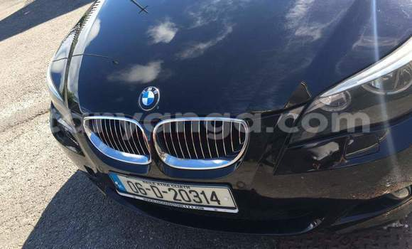 Buy Used BMW 5-Series Black Car in Lilongwe in Malawi
