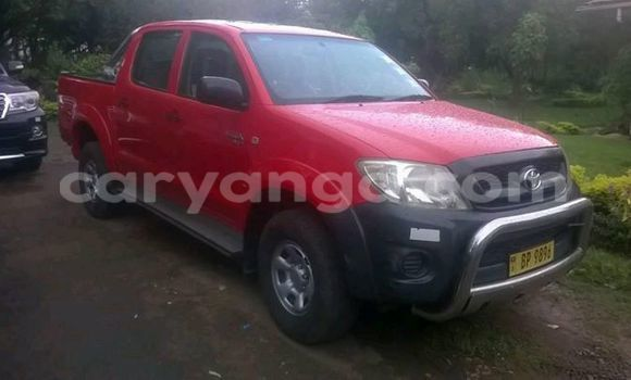Buy Used Toyota Hilux Red Car in Limete in Malawi