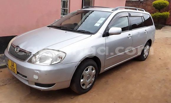 Buy Used Toyota Fielder Silver Car in Limete in Malawi