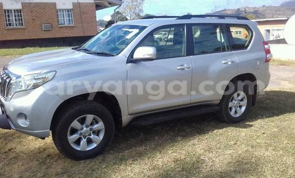 Buy Used Toyota Land Cruiser Prado Silver Car in Limete in Malawi