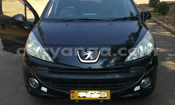 Buy Used Peugeot 307 Black Car in Lilongwe in Malawi