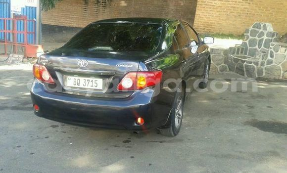 Buy Used Toyota Corolla Black Car in Limete in Malawi