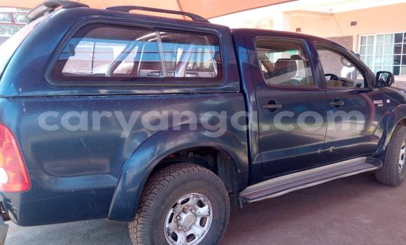 Buy Used Toyota Hilux Blue Car in Lilongwe in Malawi