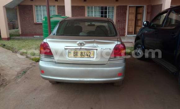 Buy Used Toyota Platz Silver Car in Lilongwe in Malawi