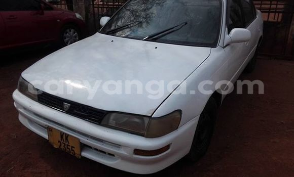 Buy Used Toyota Corolla White Car in Limete in Malawi