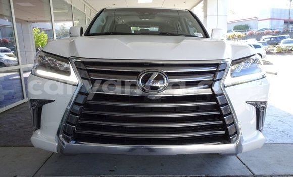 Buy Used Lexus LX White Car in Limete in Malawi