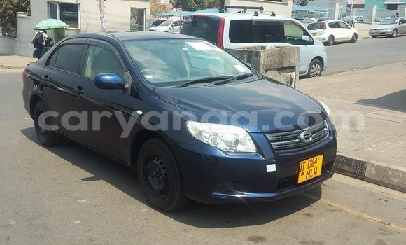 Buy New Toyota Axio Blue Car in Blantyre in Malawi