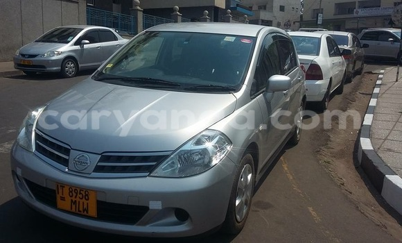 Buy New Nissan Tilda Silver Car in Blantyre in Malawi