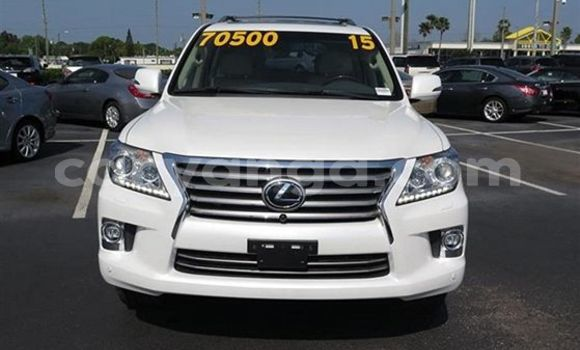 Buy Used Lexus LX White Car in Limete in Malawi