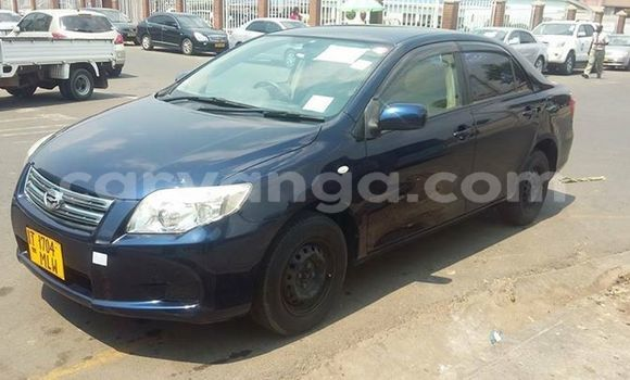 Buy Used Toyota Axio Blue Car in Limete in Malawi
