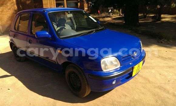 Buy Used Nissan Micra Blue Car in Lilongwe in Malawi