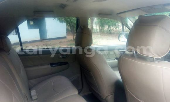 Buy Used Toyota Fortuner White Car in Lilongwe in Malawi