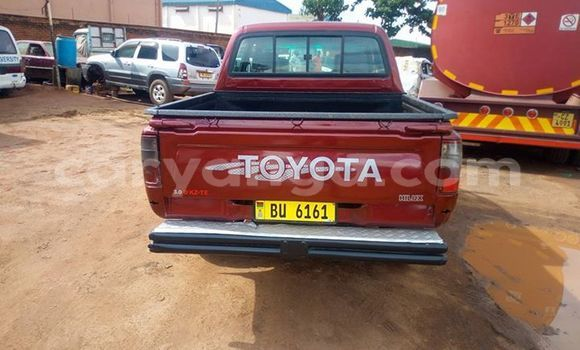 Buy Used Toyota Hilux Red Car in Lilongwe in Malawi
