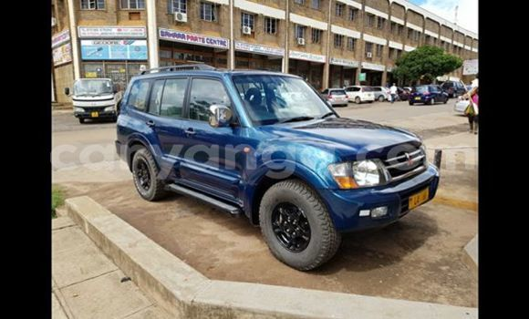 Buy Used Mitsubishi Pajero Blue Car in Lilongwe in Malawi