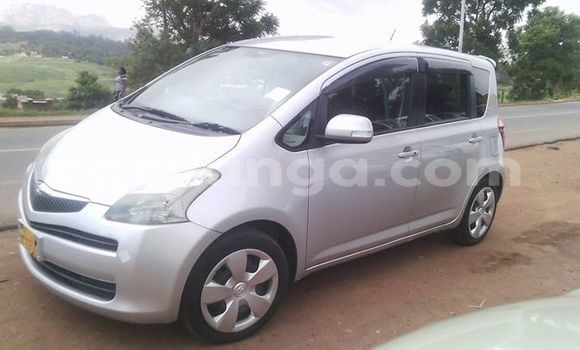 Buy Used Toyota Ractis Silver Car in Blantyre in Malawi