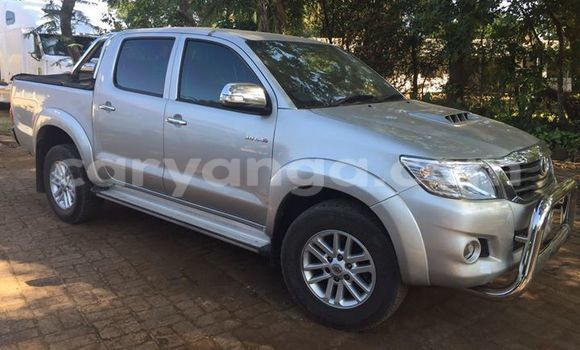 Buy Used Toyota Hilux Silver Car in Blantyre in Malawi