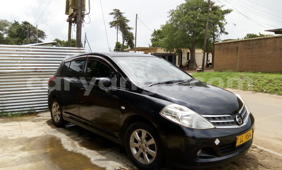Buy Used Nissan Tilda Black Car in Lilongwe in Malawi