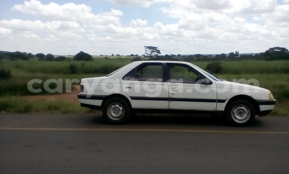 Buy Used Peugeot 406 White Car in Lilongwe in Malawi