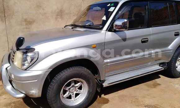 Buy Used Toyota Land Cruiser Prado Silver Car in Lilongwe in Malawi