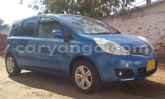 Buy Used Nissan Note Blue Car in Lilongwe in Malawi